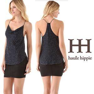 Haute Hippie Caviar Beaded Tank, L